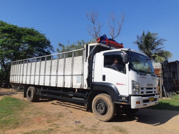 Jasa angkutan truk kargo darat dan kontainer Gresik – Surabaya