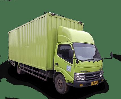 Perusahaan ekspedisi ekspres cargo darat CDD bak/box